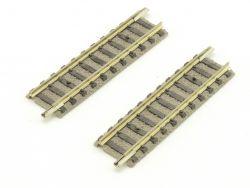 Fleischmann 2x 9103 Piccolo 1/4 gerades Gleis 55,5 mm