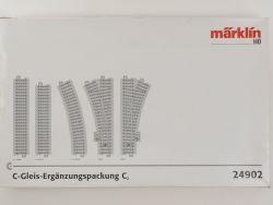 Märklin 24902 C-Gleis Ergänzungspackung C2 Weichen H0 TOP! OVP