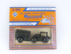 Roco Z-285 Minitanks LKW 1,25 t M 561 6x6 GAMA GOAT 1:87 MOC OVP