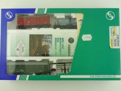 Sachsenmodelle 14119 Feuerlöschzug Güterwagen ungeöffnet NEU OVP
