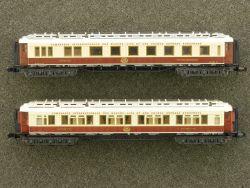 Minitrix 2x Orient Express 3180 3179 Schlaf/Speisewagen TOP!