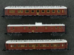 Minitrix 3x Orient Express 13181 15735 13710 Schlafwagen TOP