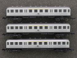 Arnold Rapido 3x 5807 Silberling Personenwagen 1./2. Kl.
