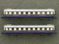 Arnold 3312 3313 Salonwagen Rheingold Mitropa DRG 1./2. Kl
