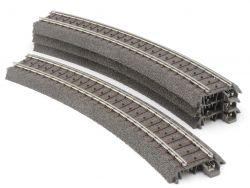 Märklin 24130 4x Gebogenes Gleis Kurve R1 360 mm 30° C-Gleis