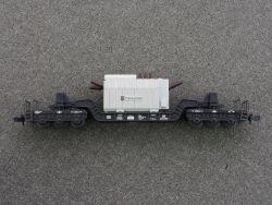 Minitrix 18061 Trafo-Union-Schwerlastwagen Tiefladewagen