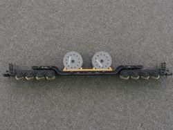 Fleischmann 8299 Tiefladewagen 980 901 Kabelmetal Ladung TOP