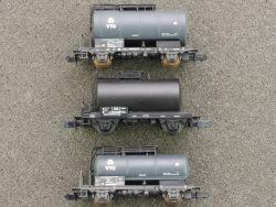 3x Kesselwagen Roco VTG 02320A Arnold schwarz Spur N DB