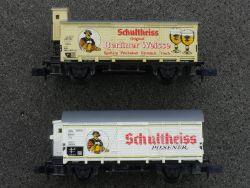 2x Arnold Bierwagen Schultheiss Pilsener Berliner Weisse Zug