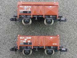 Fleischmann 2x Güterwagen 8860 KBayStsB 8864 KSächsStsEB