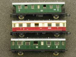 Fleischmann 3x Personenwagen 8061 8062 Konvolut Spur N lesen