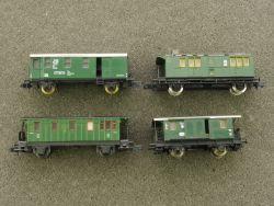 Konvolut 4x Personenwagen Arnold 4492 0304 Fleischmann 8055