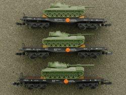 Arnold 3x 4970 Schwerlastwagen SSkms Panzer Leopard Bundeswehr
