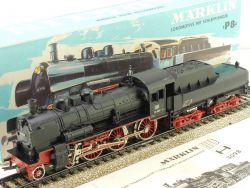 Märklin 3098 Dampflok Schlepptender P8 BR 38 DB H0 800 lesen OVP