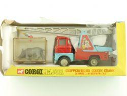 Corgi 1144 Chipperfields Circus Crane Scammel Handyman Cage OVP