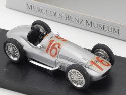 Brumm MB Mercedes Benz Museum Silberpfeil W 154 1:43 #16 TOP OVP
