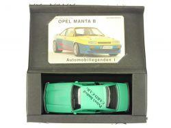 Praline Opel Manta B Geschenkset 1 Petras Card-Cars Limited OVP