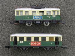 Arnold 2973 Überland-Straßenbahn ET 184 Beiwagen EB 2963 DRG