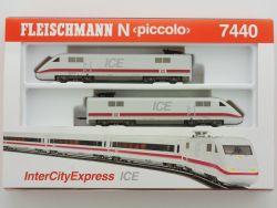Fleischmann 7440 Inter City Express ICE BR 401 DB sehr gut  OVP
