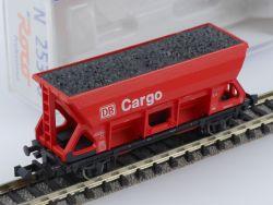Roco 25338 Selbstentladewagen DB Cargo rot Kohleladung OVP