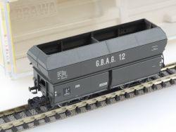 Brawa 1808 Selbstentladewagen GBAG 12 Kohlenwagen TOP! OVP ST
