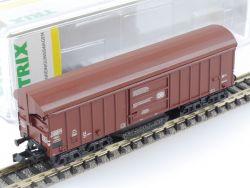 Minitrix 15500 Schienenreinigungswagen Taes 890 Schwenkdach OVP