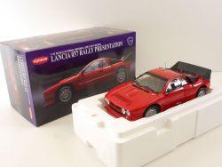 Kyosho 08304R Lancia 037 Rally Presentation 1:18 Modell Rare OVP