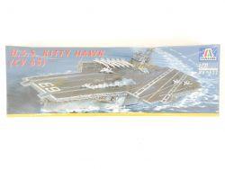 Italeri 522 Flugzeugträger USS Kitty Hawk CV-63 1/720 NEU! OVP