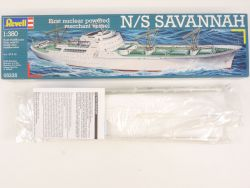 Revell 05235 Merchant Vessel N/S Savannah Kit 1/380 lesen! OVP