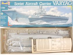 Revell 5076 Soviet Aircraft Carrier Varyag 1/720 Kit NEU MIB OVP
