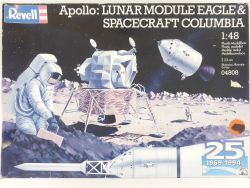 Revell 04808 Apollo 11 Eagle Spacecraft Columbia 1/48 Kit MIB! OVP