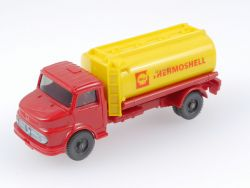 Wiking 970/1 A MB 1413 Tankwagen Shell Thermoshell Rot