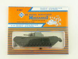 Roco Z-267 Minitanks Churchill IV 6 Pounder MkIV Tank Panzer OVP