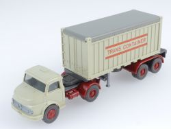 Wiking 888/3 A MB 1413 Trans Container Sattelzug LKW TOP!