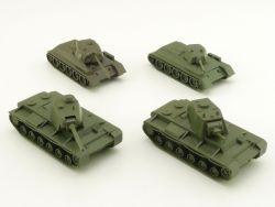 Roskopf RMM Konvolut 4 Panzer KV 1 KW 85 T34 75 85 UdssR