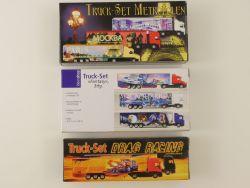 3x Truck-Sets Metropolen Drag Racing Fantasy 1:87 LKW NEU! OVP