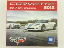 GM 194811 Corvette Car-a-day Kalender Calendar 2013 TOP! OVP