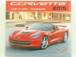 GM Corvette Car-a-day Kalender Calendar 2015 TOP! OVP