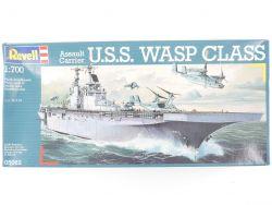 Revell 05062 Assault Carrier USS Wasp 1/700 Bausatz NEU OVP