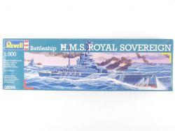 Revell 05004 Schlachtschiff HMS Sovereign 1/500 Bausatz NEU! OVP