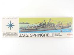 Renwal 602 Kreuzer USS Springfield 1/500 Plastik Kit MIB NEU! OVP