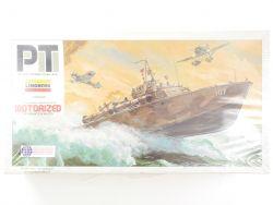 Lindberg 7410 PT-Boat motorisiert 1/64 Kit Bausatz MIB NOS NEU OVP