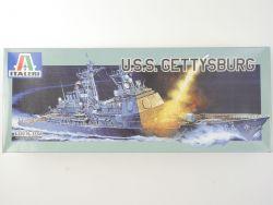 Italeri 5554 Lenkwaffenkreuzer USS Gettysburg 1/350 Kit NEU! OVP