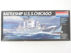 Monogram 75005 US Navy Kriegsschiff USS Chicago 1/500 NEU! OVP