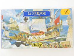 Heller 80126 Segelschiff La Couronne 1/600 Kit NEU! OVP