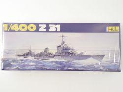 Heller 1048 Deutsche Kriegsmarine Zerstörer Z 31 1/400 NEU! OVP