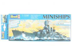 Revell 06804 Miniships Schlachtschiff Roma WK II 1/1200 TOP! OVP