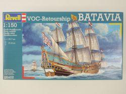 Revell 05402 Holländischer Frachtsegler Batavia 1/150 NEU! OVP