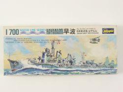Hasegawa 48 Japan Navy Destroyer Zerstörer Hayanami 1/700 NEU OVP