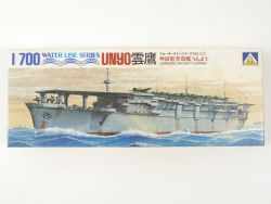 Aoshima 203 Water Line Japan Flugzeugträger Unyo 1/700 NEU! OVP